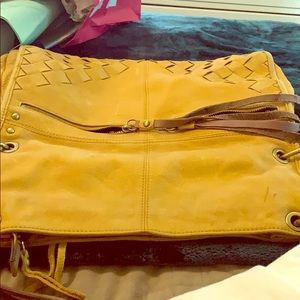 Lucky Brand leather bag in good condition